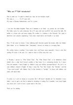 [영문 자기소개서] 영문자기소개