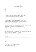 [영작] 영문과 여학생들의 영어 자기소개서 프리젠테이션 10가지