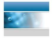 파워포인트 디자인 물방울