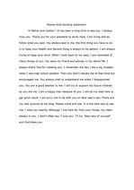 [영작문]영작문..부모님한테 편지를 영어로 씀