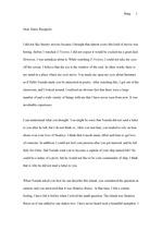 일포스티노의 마리오에게 보내는 편지 - 영작 편지