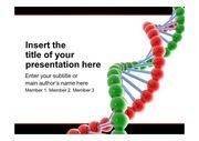 유전자 염색체 생명과학 생명 생물 생명공학 바이오 관련 파워포인트 템플릿 (ppt 배경)