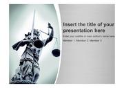 법 정의 법학 디케 관련 파워포인트 템플릿 (ppt 배경)