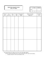 연장근무신청서(Overtime Request Form)