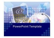 고급형 깔끔하고 심플한 파워포인트 템플릿 PowerPoint Template (PPT템플릿) 인터넷