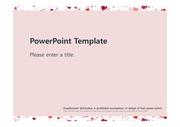 [하트무늬패턴 PPT배경] - 하트무늬패턴 사랑 빨간색 정열 따뜻한 예쁜 배경파워포인트 PowerPoint PPT 프레젠테이션