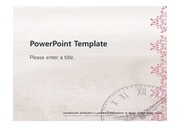 [고급스러운 시계 PPT배경] - 고급스러운 우와한 시계 시간 깔끔한 예쁜 심플한 배경파워포인트 PowerPoint PPT 프레젠테이션