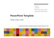 [다양한 색상패턴 PPT배경] - 다양한 색상패턴 색채 깔끔한디자인 예쁜 심플한 색깔 미술 배경파워포인트 PowerPoint PPT 프레젠테이션