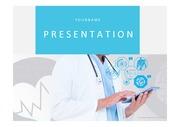 의료PPT 병원 의료 질환 의학 건강 의사 간호 헬스케어 질병 프레젠테이션 템플릿 1