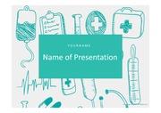 의료PPT 병원 보건 의료 질환 의학 건강 의사 간호 헬스케어 질병 프레젠테이션 템플릿 5