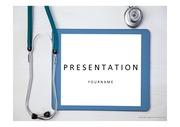 의료PPT 청진기 병원 보건 의료 질환 의학 건강 의사 간호 헬스케어 질병 프레젠테이션 템플릿 6