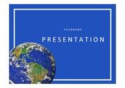 지구PPT 지구 환경 지구자기장 지구내부구조 지구분석 PPT 템플릿