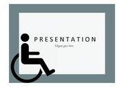 장애인PPT, 장애인 복지 인권 PPT 템플릿