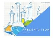 과학PPT 실험 실험도구 비커 과학탐구 과학보고서 PPT템플릿