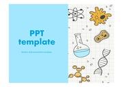 과학PPT 실험 실험도구 비커 과학탐구 화학 생물 과학보고서 PPT템플릿