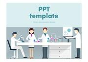실험PPT 과학 실험 실험도구 비커 과학탐구 과학보고서 PPT템플릿