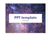 PPT템플릿 밤하늘PPT/천문PPT/별PPT/풍경PPT/예쁜PPT/깔끔한PPT