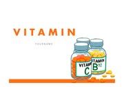 비타민PPT 비타민C 비타민B 항산화 식품영양 프레젠테이션 템플릿