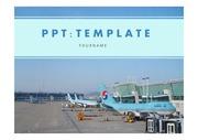 비행기PPT 인천공항 대한항공 비행기 항공학과 기내서비스 기내안전 공항