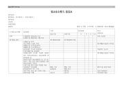 법규준수평가 점검표(환경분야)
