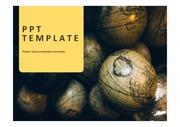 지구본PPT 지구 글로벌 세계 국제통상 다문화 세계문화 국제외교 세계지리 템플릿