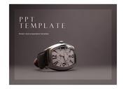 시계PPT 시계 잡화 악세서리 계획 시간 시계브랜드 PPT템플릿