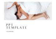 수면PPT 수면장애 숙면 수면질환 수면무호흡증 잠 깔끔한 심플한 PPT템플릿