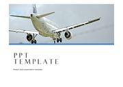 비행기PPT 항공 기내 항공학과 기내서비스 기내안전 비행기PPT템플릿