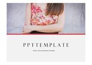 패션PPT 패션브랜드 패션 S/S트렌드분석 주제에 어울리는 PPT템플릿