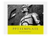 인공지능PPT 로봇 로보트 인공지능 로봇기술 주제에 어울리는 PPT템플릿