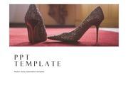 패션PPT 패션브랜드 구두 하이힐 발건강 여성패션 주제에 어울리는 PPT템플릿