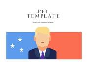 미국PPT 미국정치 트럼프정치 미국국기 미국경제 미국분석 미국역사 템플릿