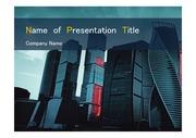 PPT양식 템플릿 배경 - 깔끔, 러시아, 모스크바,현대건축물11