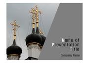 PPT양식 템플릿 배경 - 러시아, 모스크바, 정교회1