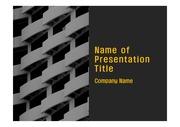 PPT양식 템플릿 배경 - 말레이시아, 현대건축물,패턴1