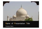 PPT양식 템플릿 배경 - 서양건축사, 인도, 타지마할2
