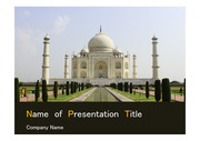 PPT양식 템플릿 배경 - 서양건축사, 인도, 타지마할3