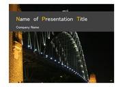 PPT양식 템플릿 배경 - 호주,시드니,하버브리지5