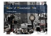 PPT양식 템플릿 배경 - 미국, 뉴욕, 도시의 아름다움3