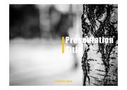 PPT양식 템플릿 배경 - 겨울, 자작나무숲