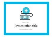 의료PPT 의학 건강 질환 질병 주제에 어울리는 PPT템플릿 타입 5