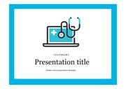 의료PPT 의학 건강 질환 질병 주제에 어울리는 PPT템플릿 타입 6