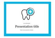 의료PPT 치아건강 치아치료 치주질환 질병 주제에 어울리는 PPT템플릿 타입 의료두뇌