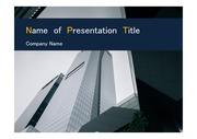 PPT양식 템플릿 배경 - 캐나다,토론토, 현대건축물7