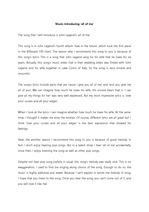 [영어발표/영어스피치/영어에세이/영작문] Music-Introducing 'all of me'  (팝송 음악 추천_소개)