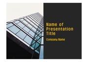 PPT양식 템플릿 배경 - 현대 건축물05
