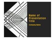 PPT양식 템플릿 배경 - 현대 건축물02