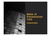 PPT양식 템플릿 배경 - 현대 건축물10