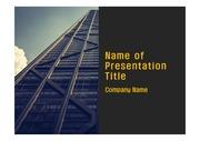 PPT양식 템플릿 배경 - 현대 건축물11