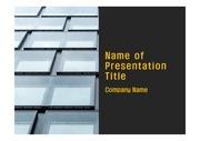 PPT양식 템플릿 배경 - 현대 건축물07